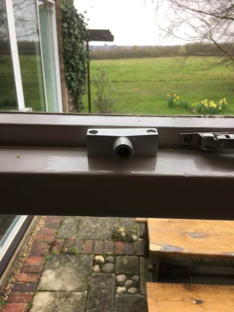 Window locks on a Colchester property in Essex - Morgan locksmiths