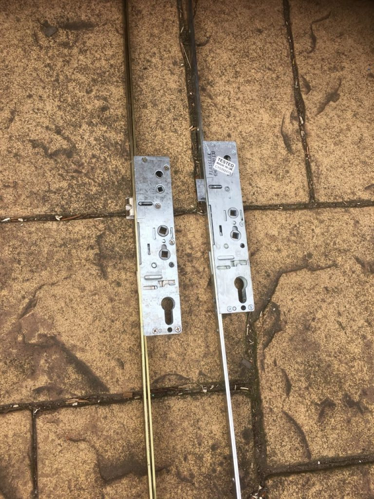 Lock mechanism for UPVC door changed in Ipswich Suffolk