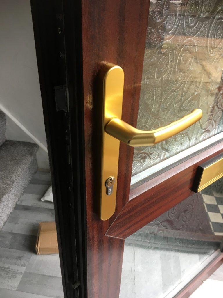 Faulty UPVC door mechanism replaces in Ipswich Suffolk by Morgan Locksmiths