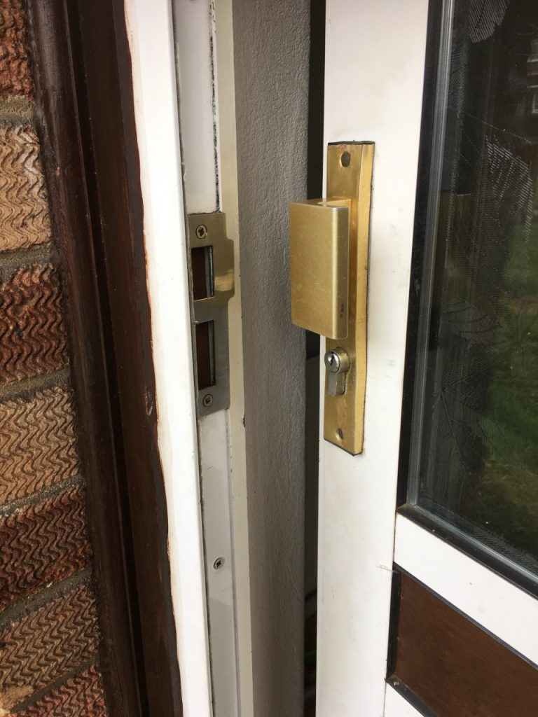 Non-destructive entry to a property in Ipswich Suffolk where they client is locked out. Morgan Locksmiths