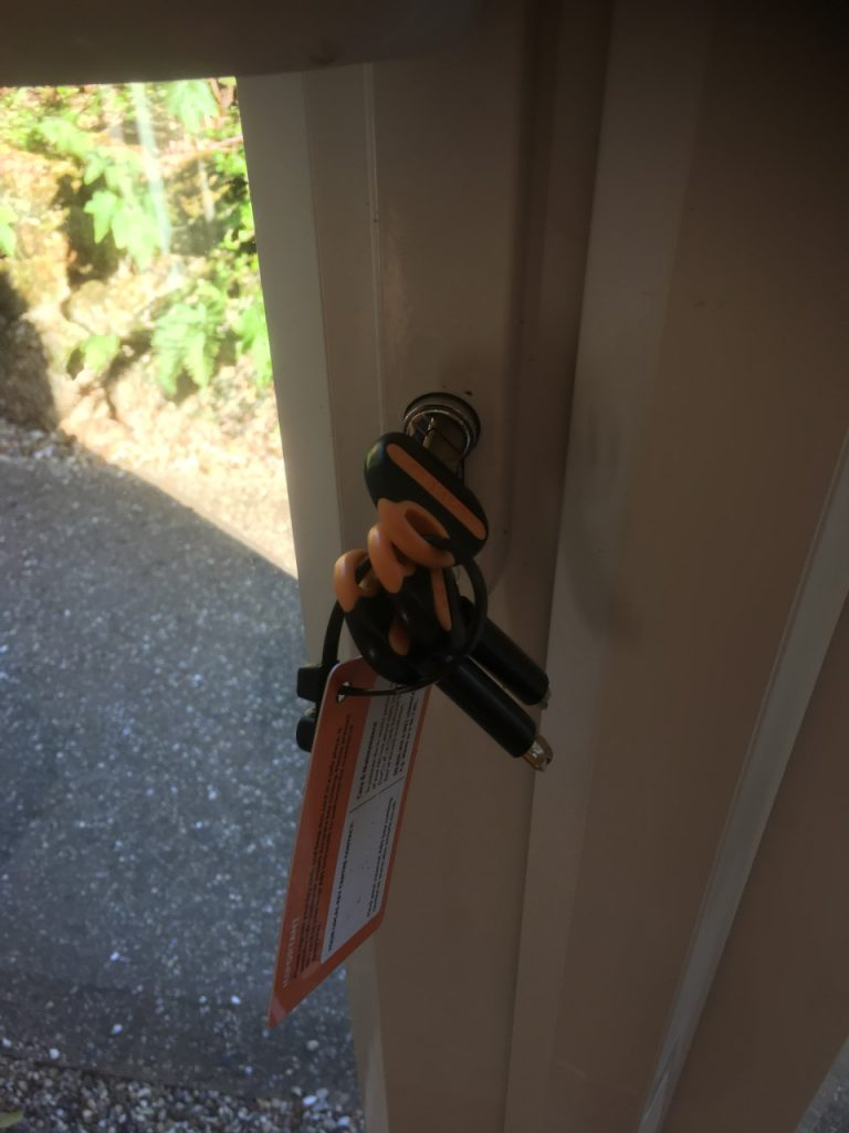 ABS Locks fitted on UPVC doors in Felixstowe Suffolk for security review