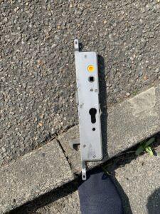 A faulty UPVC door mechanism replaced in Ipswich - Morgan Locksmiths